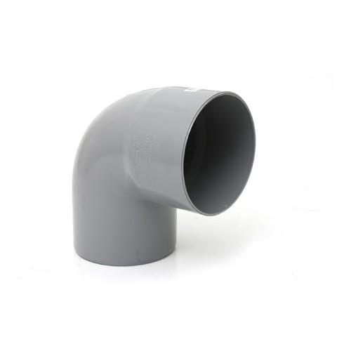 CODO PVC 200-87º H-M
