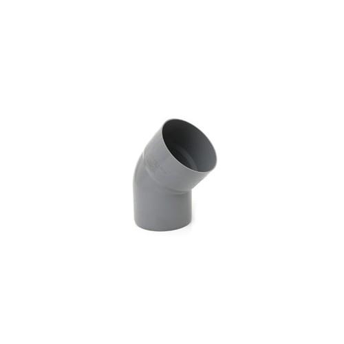 CODO PVC 160-45º H-M