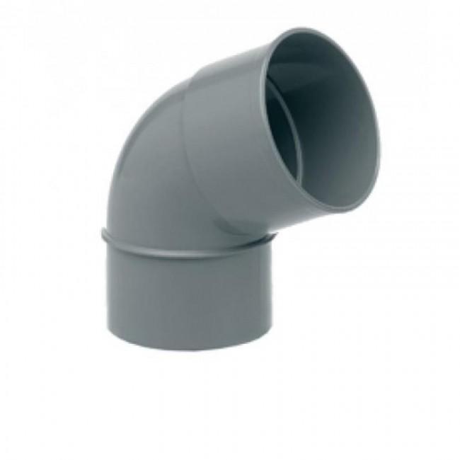 CODO PVC 75-45º H-M