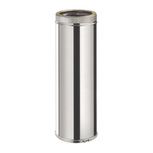 TUBO INOX 80, DOBLE PARED