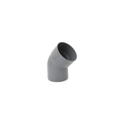 CODO PVC 110-45º H-M