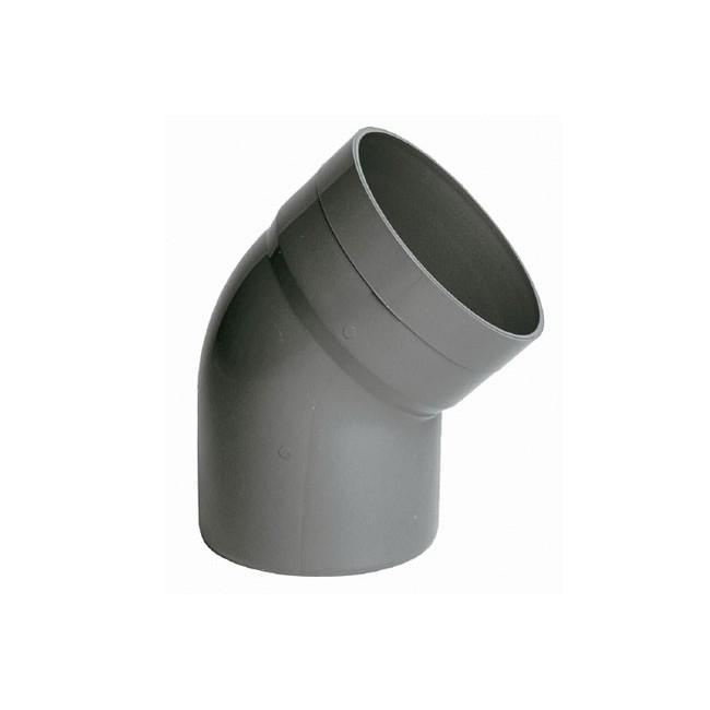 CODO PVC 200-45º H-M