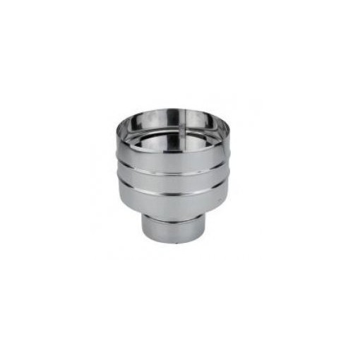 ANTI-RETURN DEFLECTOR, D-80mm, STAINLESS, AISI 304, SINGLE WALL