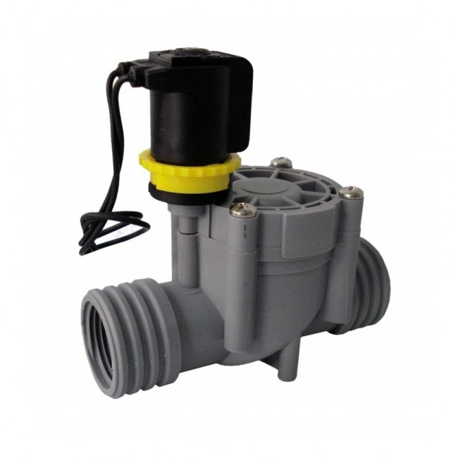 """ELECTROVALVULA 1 """", FEMALE CONNECTION, SOLENOID 24V, RPE, NORMALLY CLOSED."""