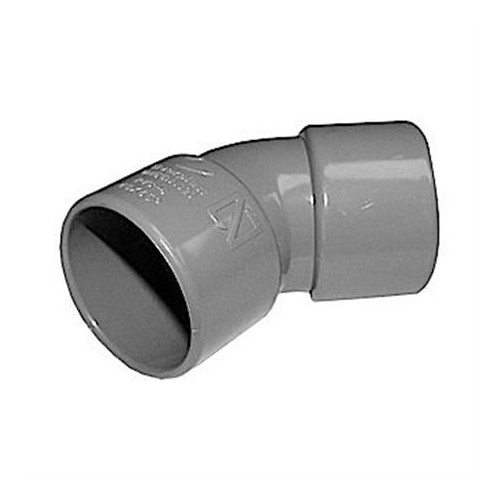 CODO PVC 110-45º H-H