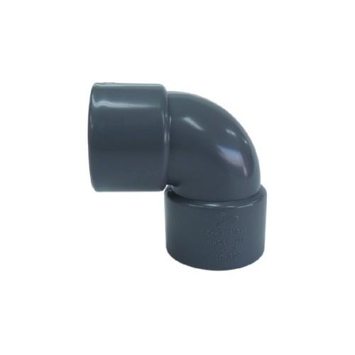 CODO PVC ENCOLAR D-110, 87º, H-H