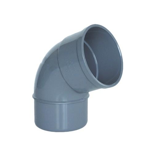 CODO PVC ENCOLAR D-125, 67º, H-M