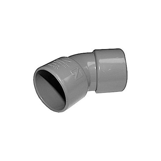 CODO PVC 40-45º H-H