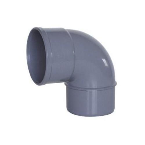 CODO PVC SANITARIO, ENCOLAR D-125, 87º, H-M, ADEQUA.