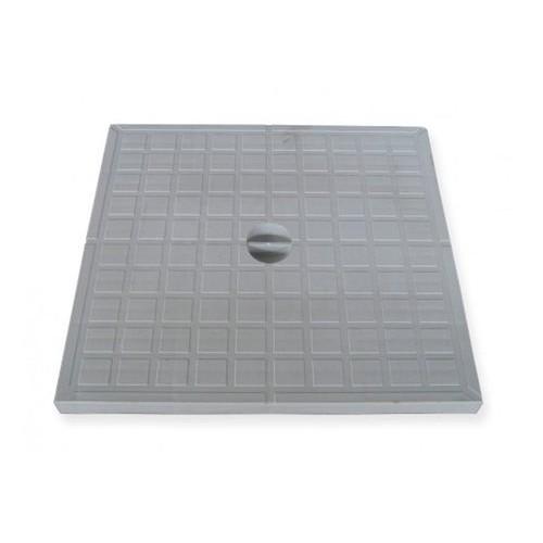 REINFORCED PVC LID 20x20 cm