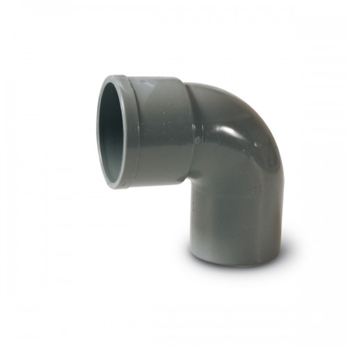 ELBOW PVC SANITARY, ENCOLAR D-40, 87º, H-M