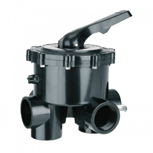 """6-WAY SELECTOR VALVE 1.1 / 2 """"WITHOUT LINK TO FILTER, ASTRALPOOL."""