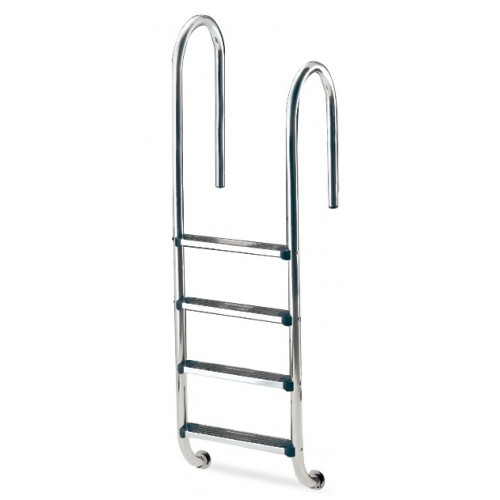 ASYMMETRIC LADDER 3 STEPS, MODEL MURO, INOX 304, ASTRALPOOL.