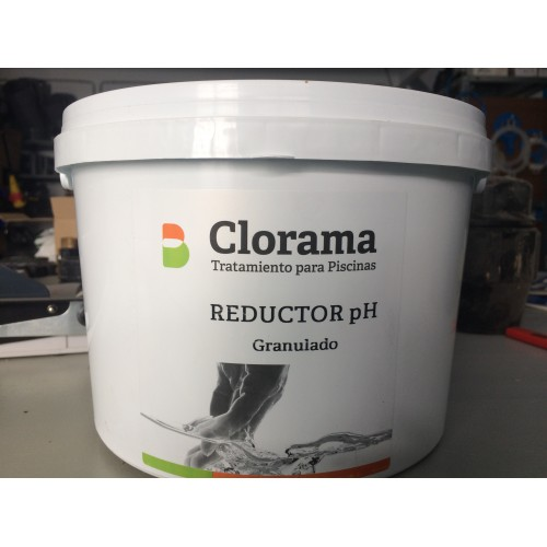 REDUCER OF PH GRANULATED, CLORAMA, CONTAINER 16 KG.