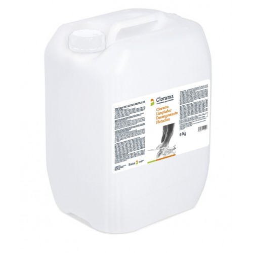 CLEANER, DEGREASING FLOTATION LINE, CLORAMA, 5 LT CONTAINER.
