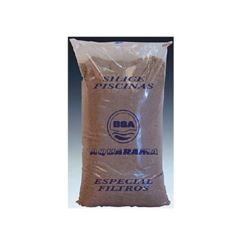 SILEX SAND, SPECIAL FOR FILTER, POOL AND IRRIGATION, 0,4-0,8MM SACK 25KG