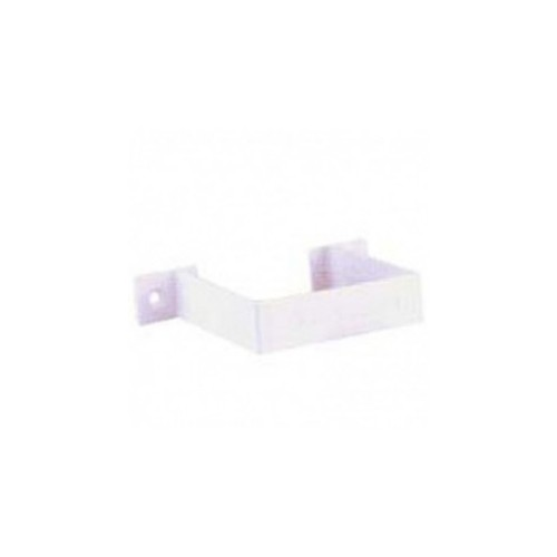 SQUARE CLAMP PVC WHITE 70x70, FOR DOWN CANNON EUME.