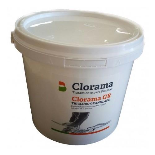 TRICLORO IN GRAIN 90%, CLORAMA, PACKAGING 5 KG.