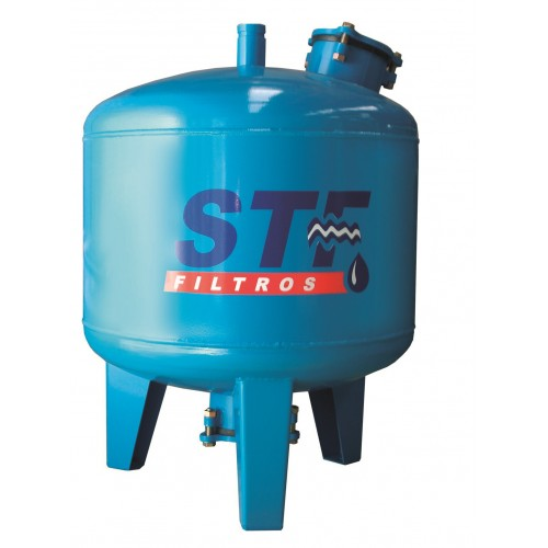 SAND FILTER IRRIGATION IN STEEL D.500, STF, CONNECTION VICTAULIC 2 ""