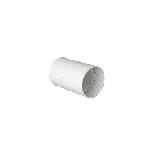 WHITE PVC UNION SLEEVE, D-110, CANALON DOWN
