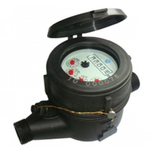 "IRRIGATION METER, MULTIPLE JET, POLYMER, (NYLON) 1,1 / 2 "", L-348mm"