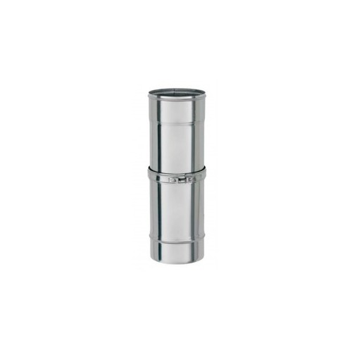 TUBO INOX D.80 EXT,355-565 D.PARED