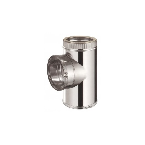 TE INOX D.PARED D.80, AISI 304