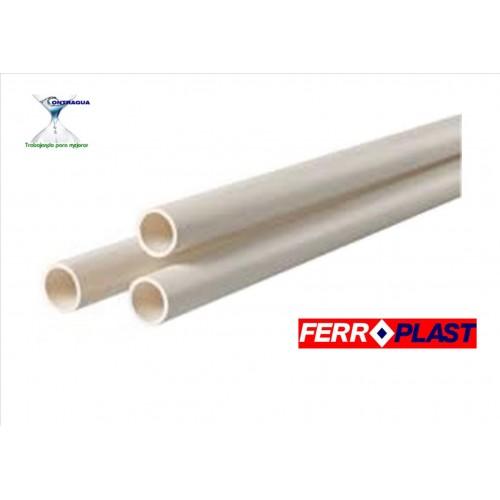 TUBO PVC D-50, BLANCO, SERIE B, CAÑA 3 METROS.