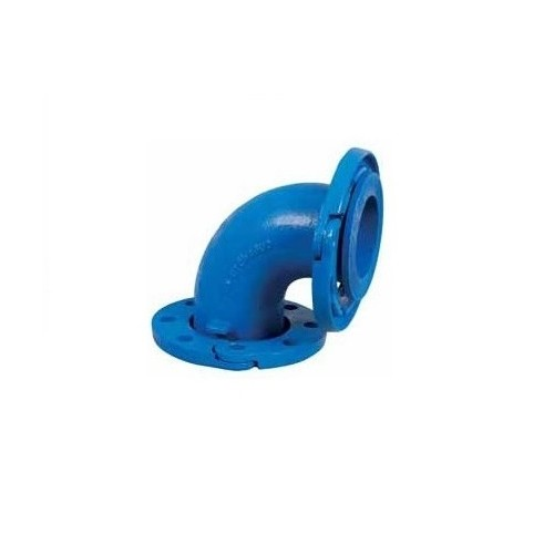 CAST IRON ELBOW DIRECTIONABLE FLANGES D-100, 90º