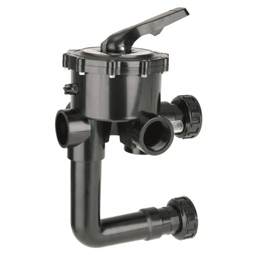 """SELECTOR VALVE 6 WAYS 1.1 / 2 """"WITH LINK TO FILTER, ASTRALPOOL."""