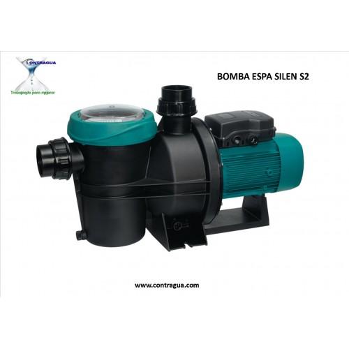BOMBA PISCINA ESPA, SILEN S2, 75 18M, MONOFASICA, 230V, 0,75 HP.