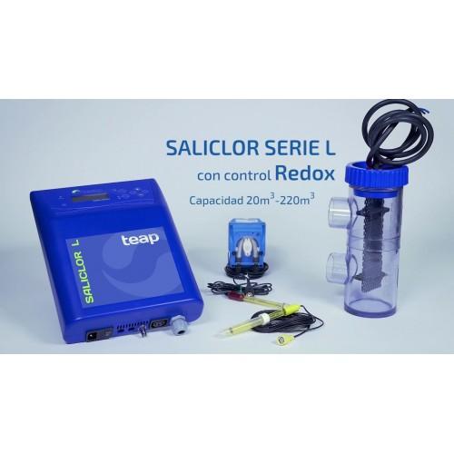 CLORADOR SALINO SALICLOR, TEAP, L-50, 16 GR/HORA, + PH, + REDOX