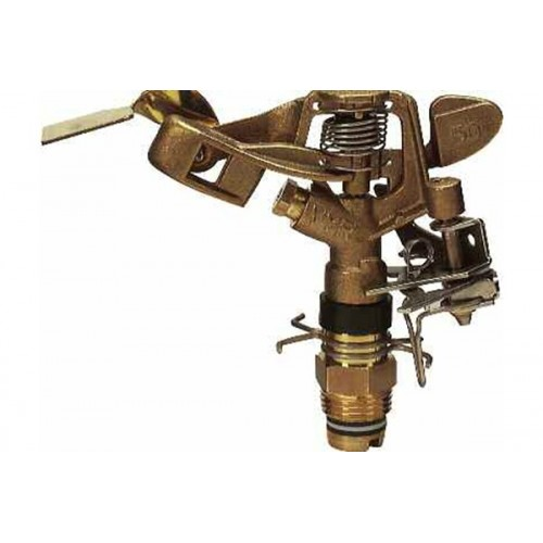 "BRASS SPRINKLER, SECTORAL V-50, CONNECTION 1/2 "", HALF FLOW."