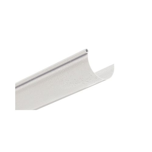 PVC CIRCULAR CHANNEL, WHITE, D-33, SECTIONS OF 1.5 METERS