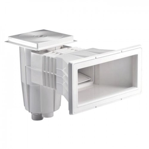 SKIMMERS 15 LITERS, SQUARE PRESSURE LID, EXPANDED MOUTH, ASTRALPOOL