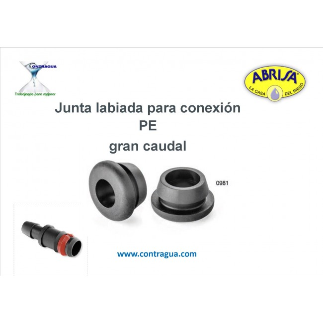LABIED SEAL FOR PE CONNECTION, LARGE FLOW