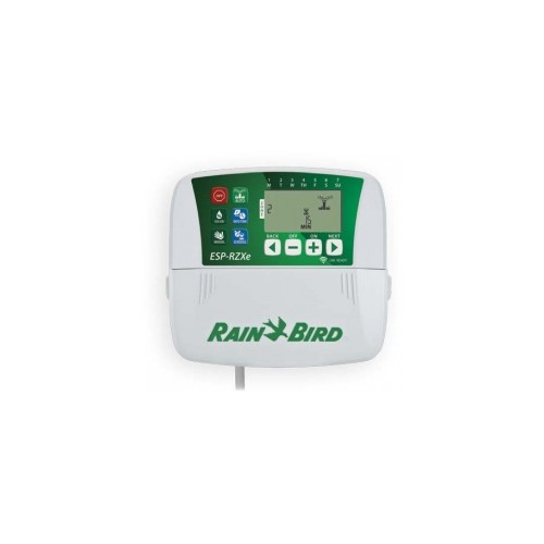 RAIN BIRD PROGRAMMER, RZX4i, 4 STATIONS, COMPATIBLE WITH WIFI.
