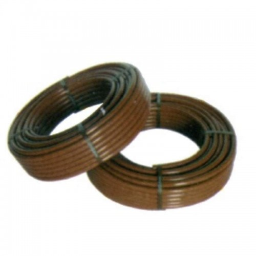 BROWN PLAIN AGRICULTURAL PIPE, 2.5 ATM, 16MM, R / 100 MT