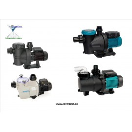 POOL PUMPS FOR PRIVATE AND PUBLIC USE.