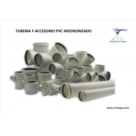 TUBERÍA Y ACCESORIO PVC INSONORIZADO.