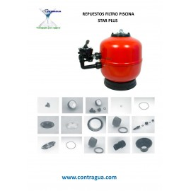 POOL FILTER SPARE PARTS, STAR PLUS